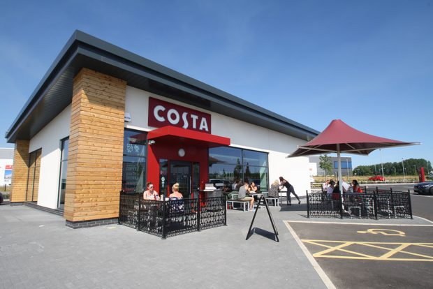 "Costa Coffee ""drive-thru"" – Bolton"